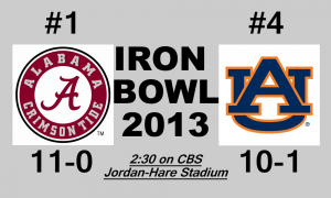 Iron Bowl Logo 2013