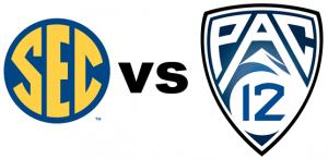 SEC vs Pac 12